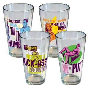 Archer Set of 4 Pint Glasses