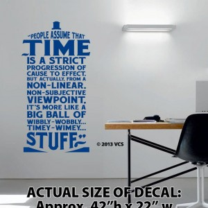 Doctor Who Wall Decor Vinyl Decal