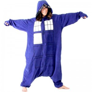 Doctor Who Tardis One Piece Pajamas