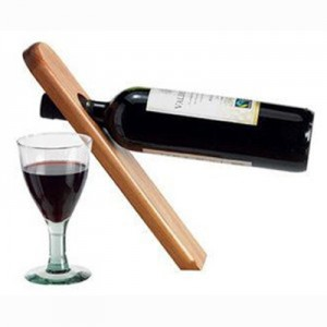 Gravity Defying Wine Bottle Stand