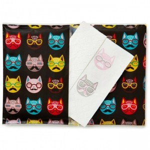 Hipster Cat Tissues