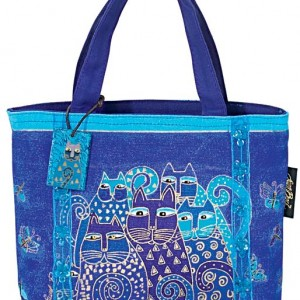Indigo Cats Tote Bag