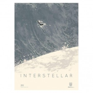 "Interstellar IMAX Poster - 12""x16"""