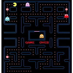 Pac-Man 45x60 Fleece Throw Blanket