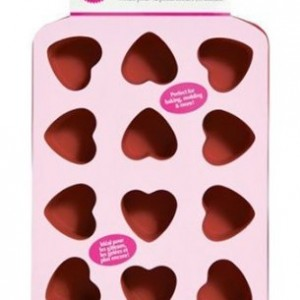 Petite Silicon 12 Cavity Heart Pan