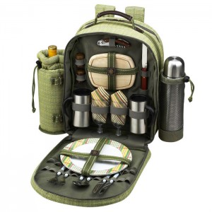 Picnic Backpack with Blanket