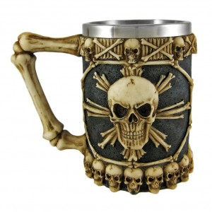 Pirate Skull Beer Mug