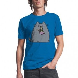 Pusheen Eating Ramen Shirt