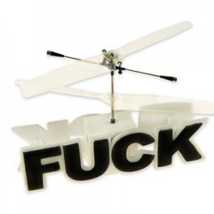 Remote Control Flying F*ck