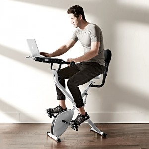 Semi-Recumbent Pedal Desk