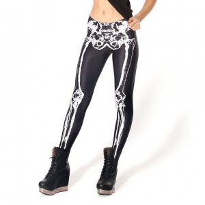 Skeleton Tights