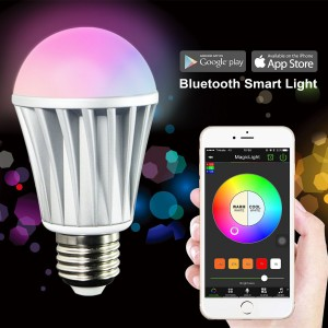Smart LED Light Bulb - Smartphone Controlled
