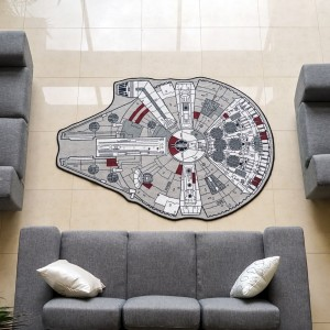 Star Wars Millenium Falcon Rug