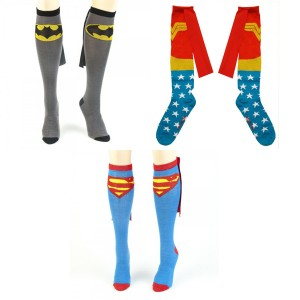 Superhero Socks with Cape