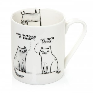 Too Much Coffee Cats Mug