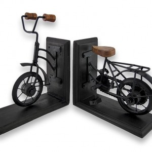 Vintage Bicycle Bookends