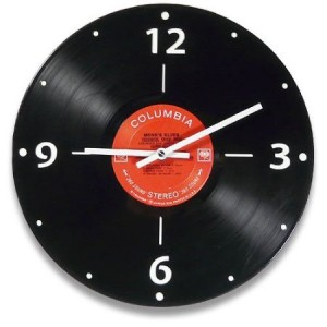 Vintage Vinyl LP Record Wall Clock