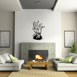 Zombie Hand Wall Decal