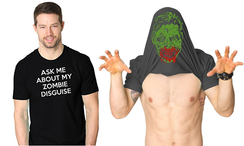 Ask Me About My Zombie Disguise T-Shirt