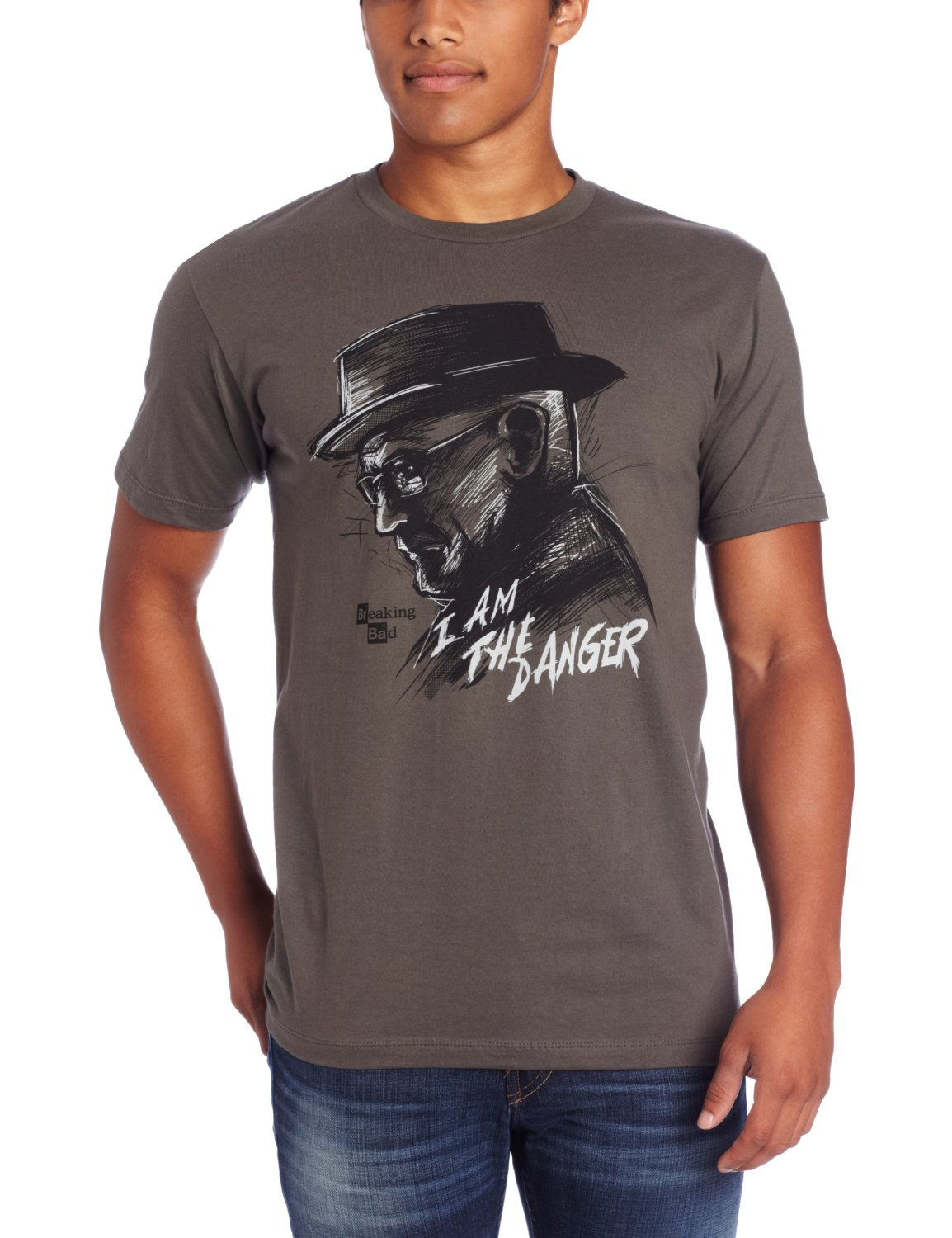 breaking bad i am the danger t shirt gift search. Black Bedroom Furniture Sets. Home Design Ideas