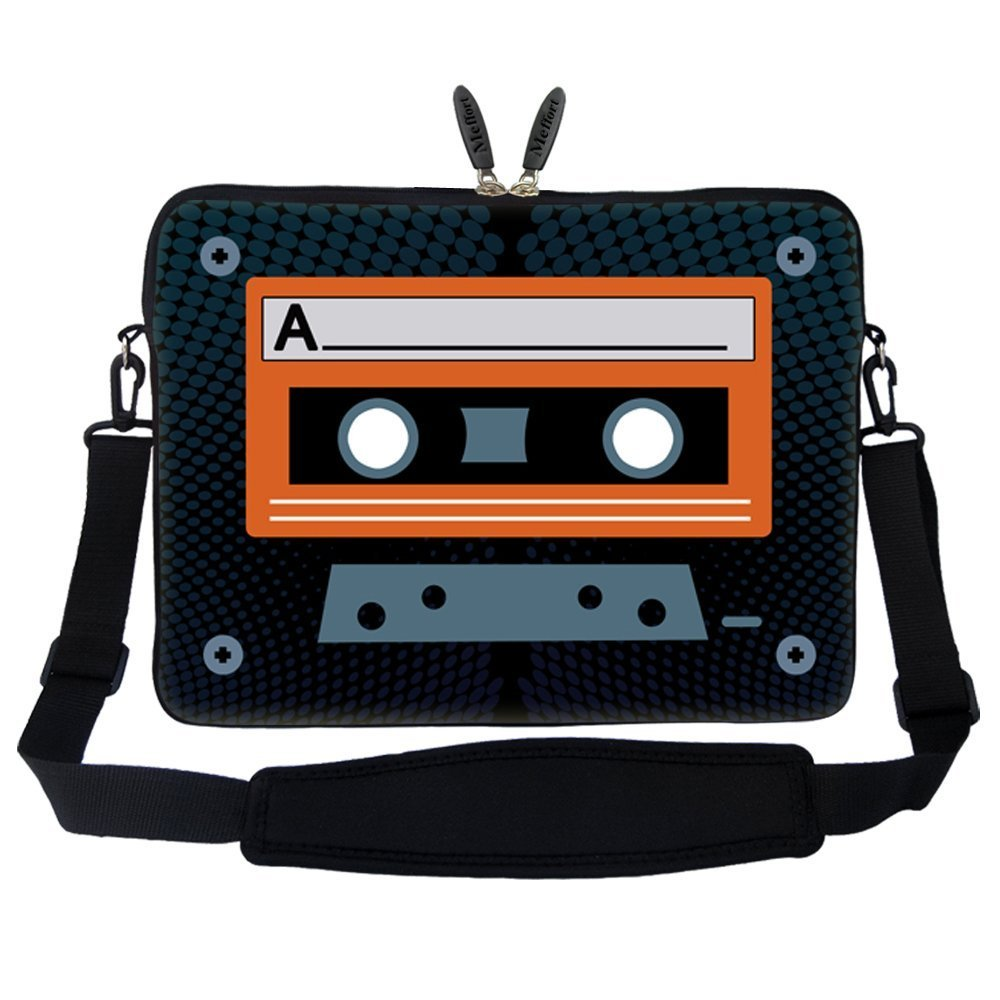 "Compact Cassette 17.3"" Laptop Sleeve"