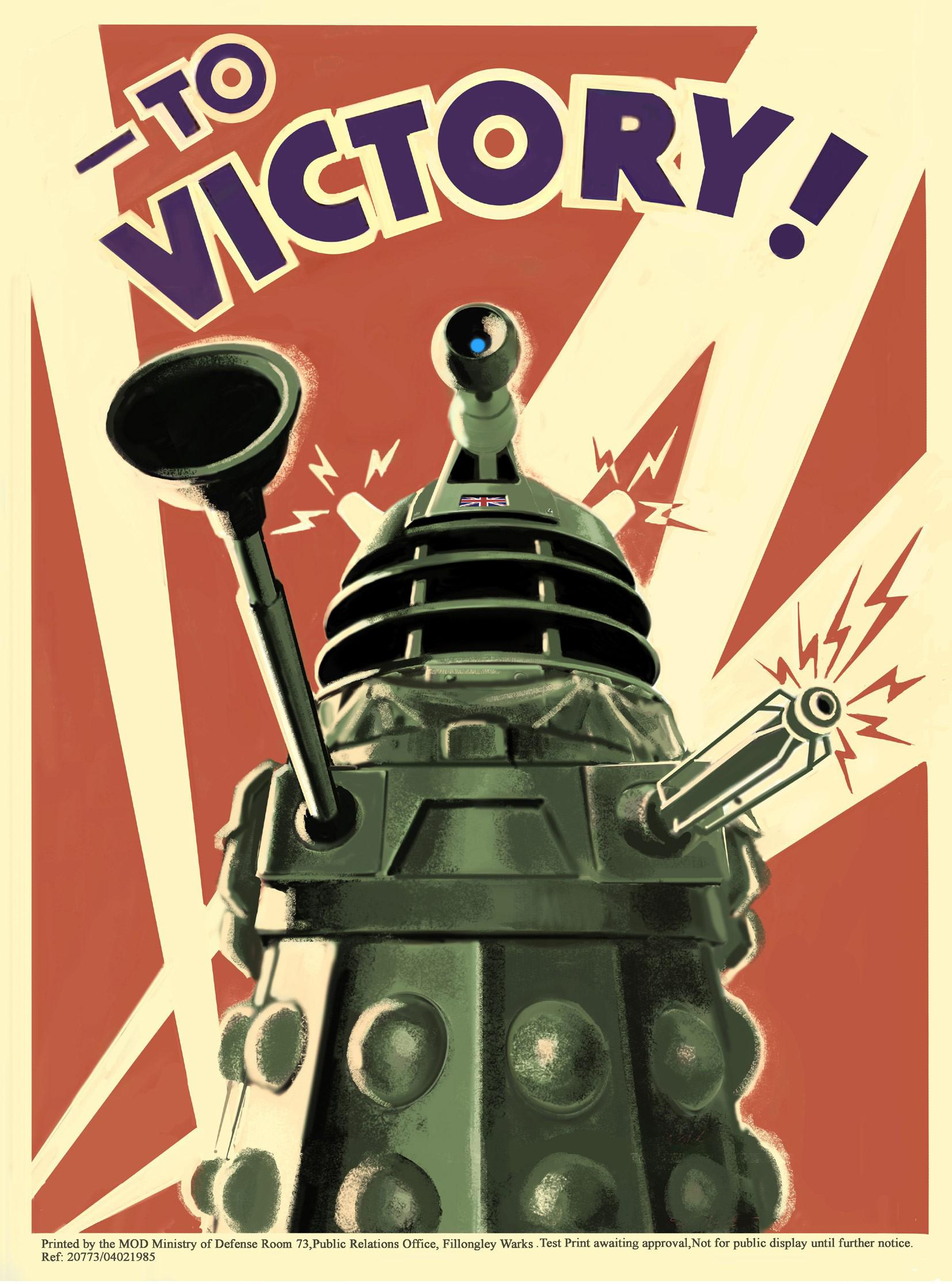 War In Your Bedroom Doctor Who Dalek To Victory Poster Gift Search
