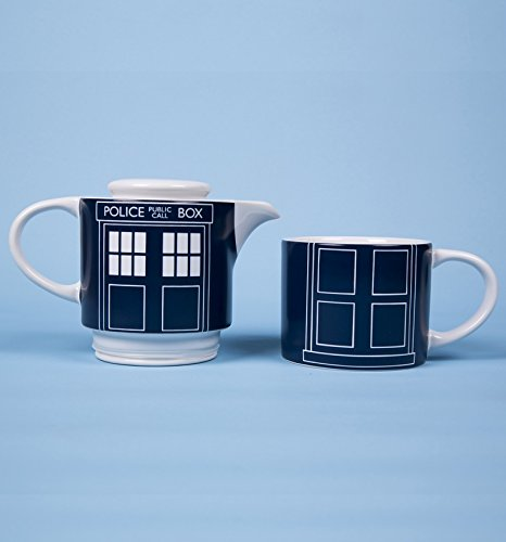 Doctor Who Door Panel Tea Set