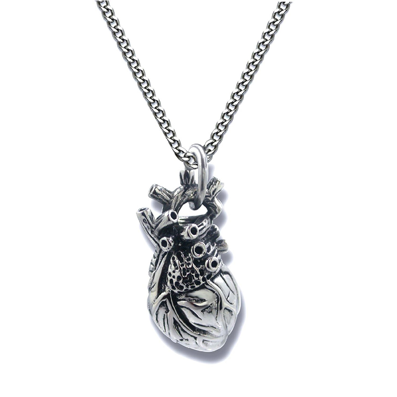 Human Heart Necklace