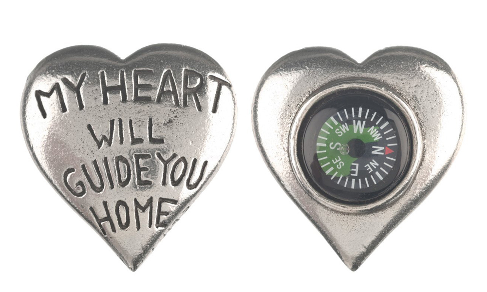 My Heart Will Guide You Home Compass Gift Search