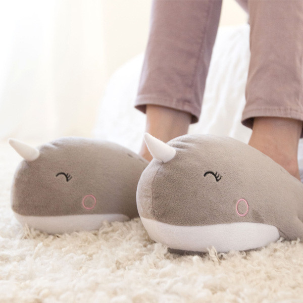 Narwhal USB Foot Warmers