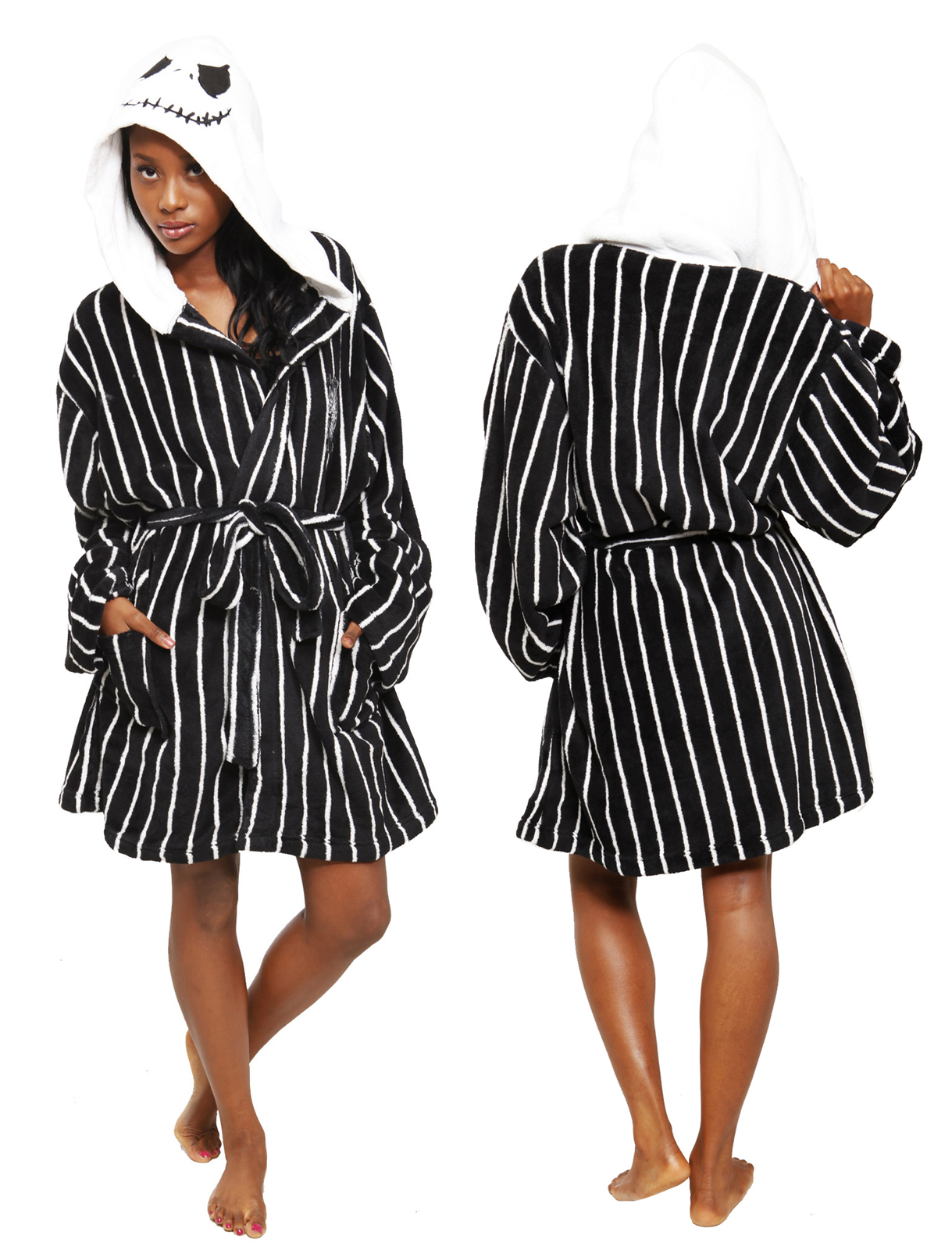 nightmare before christmas jack skellington robe