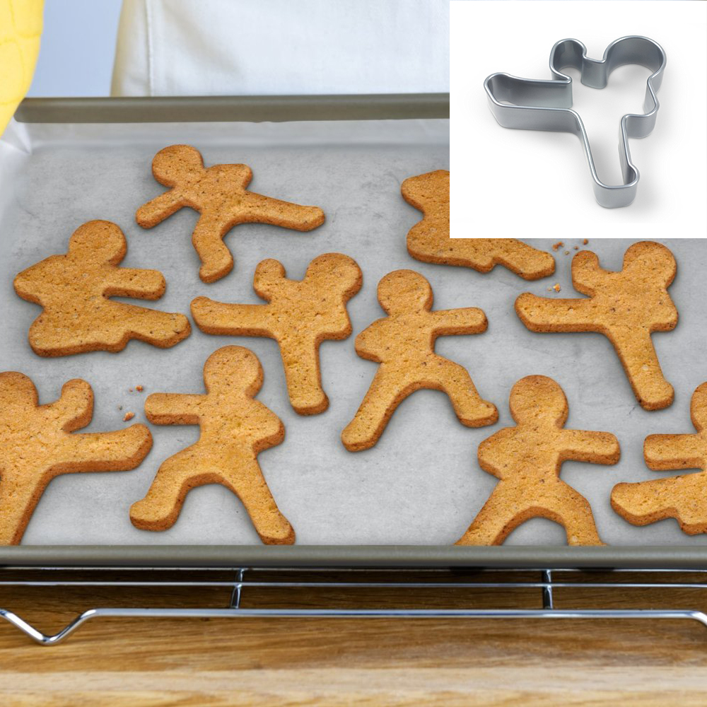 Ninjabread Men Cookie Cutters (Set of 3)