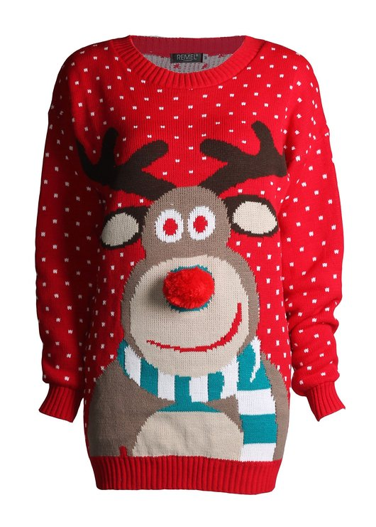 Très Gift Search | Rudolph the Christmas Reindeer Sweater TS35