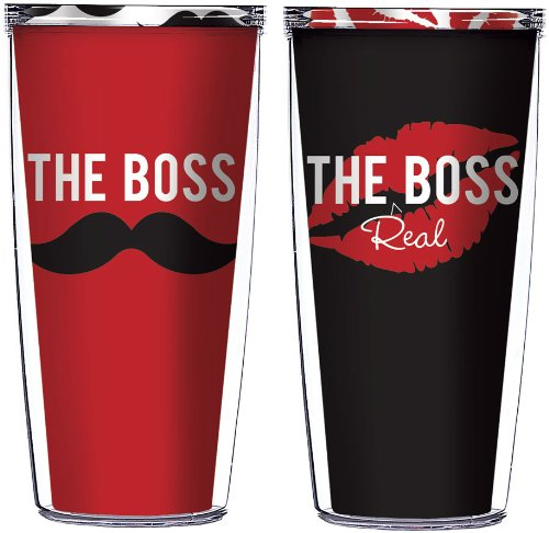 The Boss and The Real Boss Tumblers