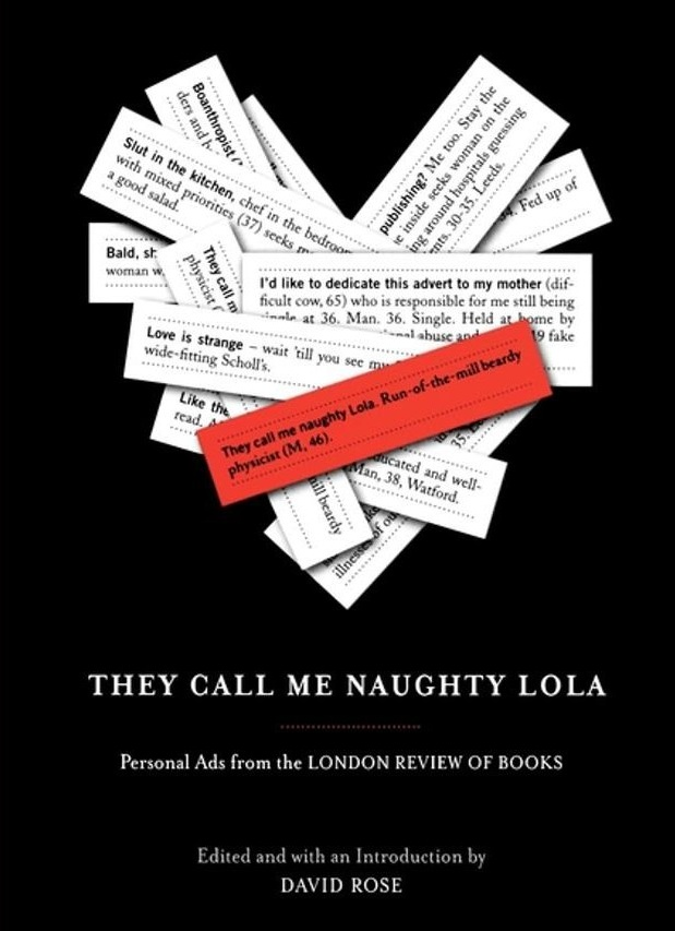 They Call Me Naughty Lola: Personal Ads