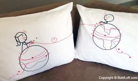 """Worth Every Mile"" Pillowcases"