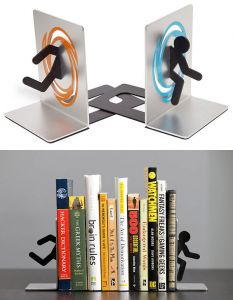 Portal 2 book ends gift search - Portal book ends ...