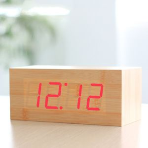 Wood Grain Alarm Clock
