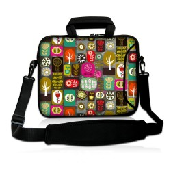 Colorful Laptop Sleeve with Shoulder Strap